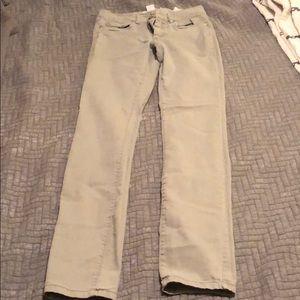 Khaki style skinny pants! Light army green!